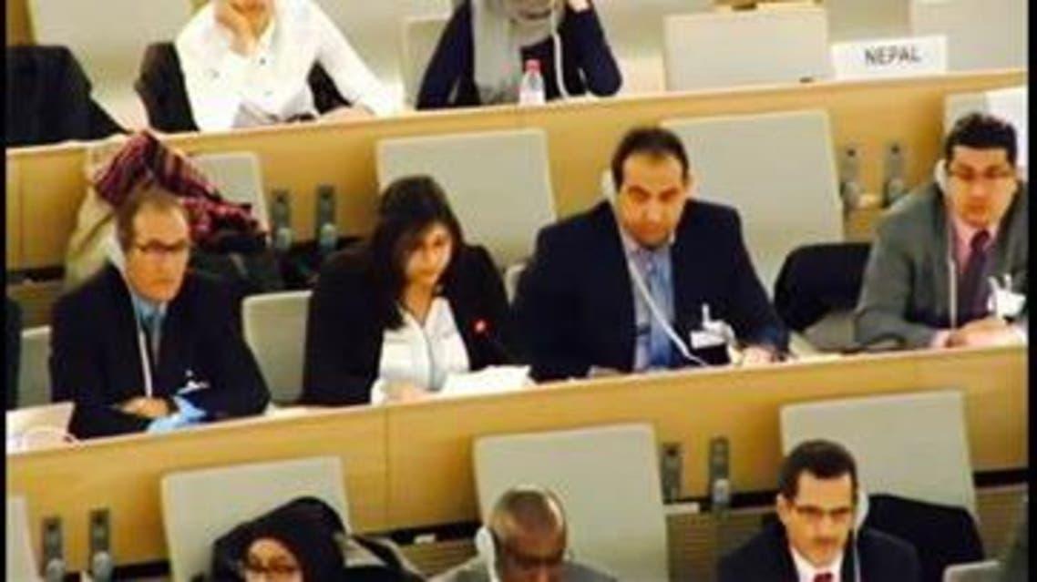 وفد عرب الأهواز في الأمم المتحدة
