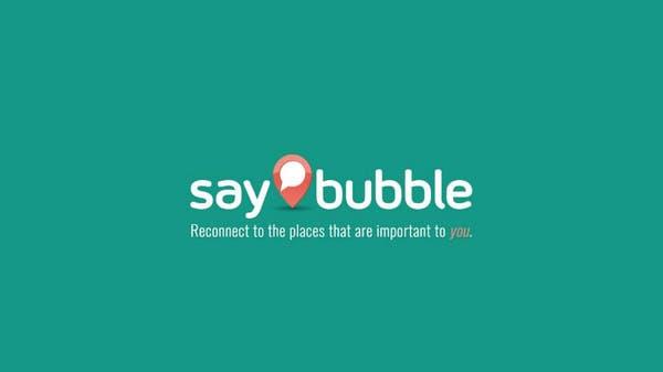 Saybubble لمشاركة الأحداث والأخبار وفقا