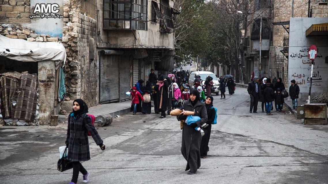 فارون من الموت في شرق حلب