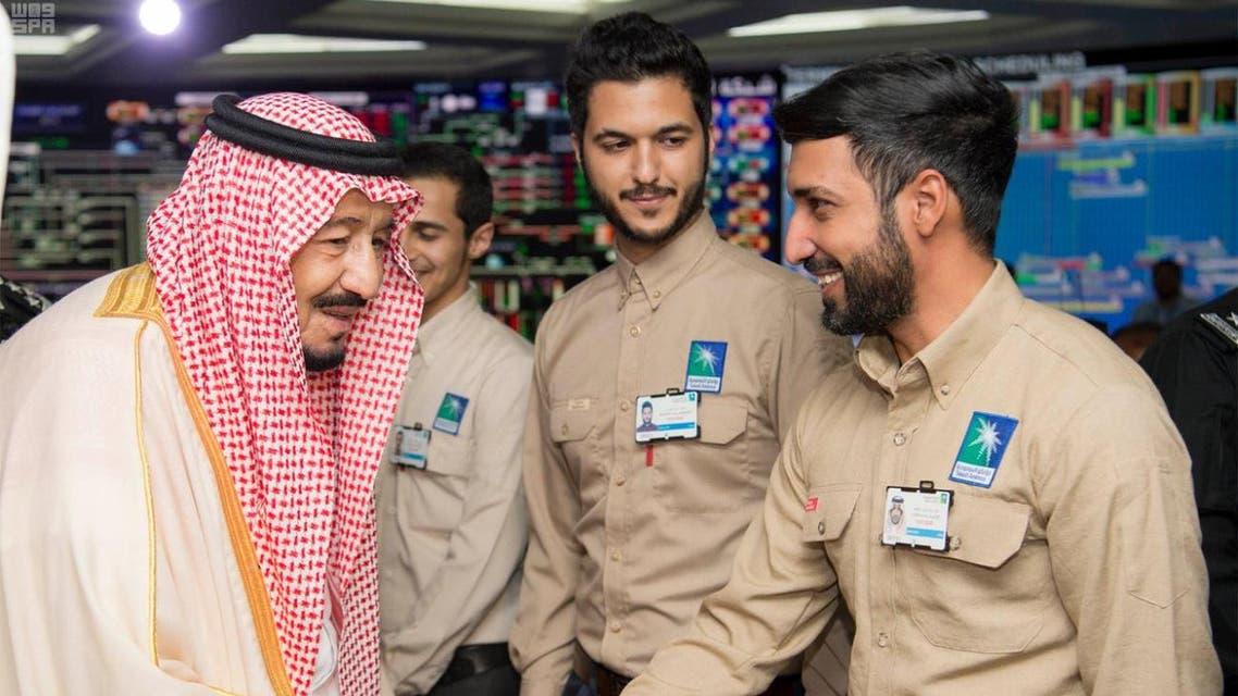 saudi king aramco