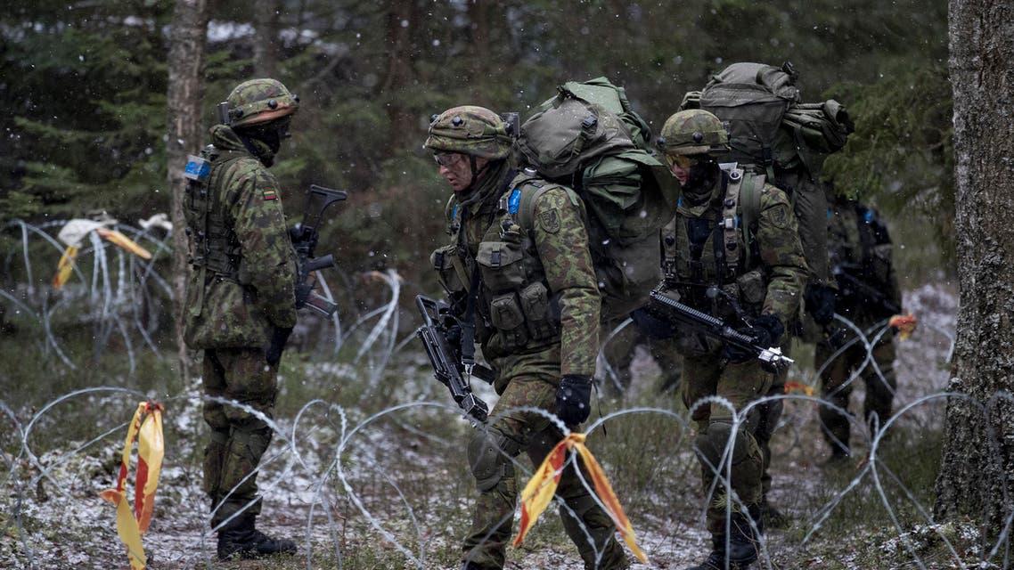 تدريبات الناتو في ليتوانيا