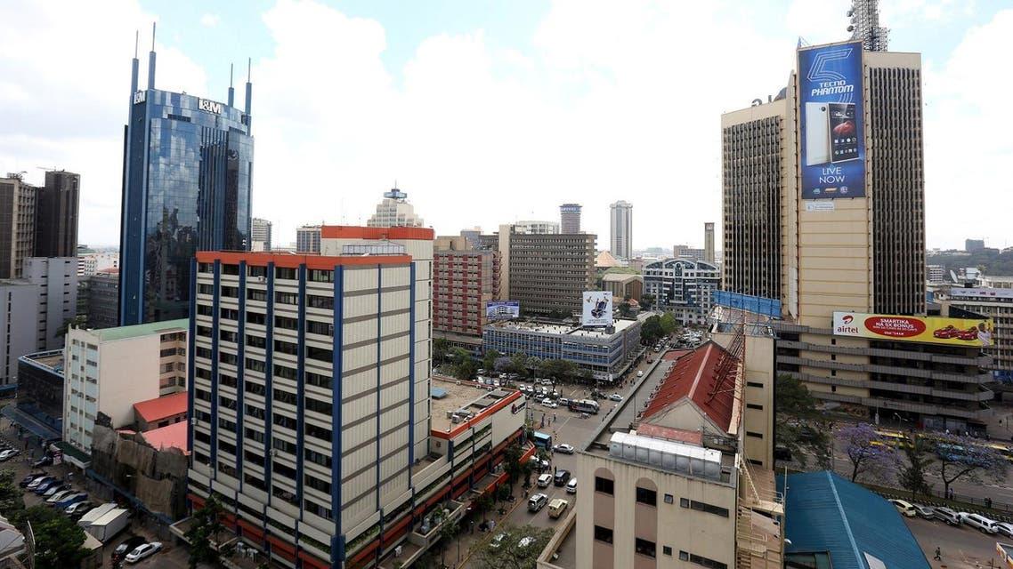 aerial view nairobi