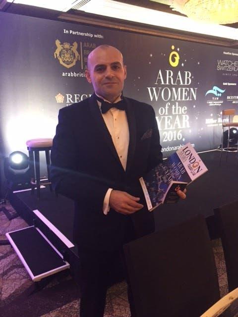 عمر بدور الرئيس التنفيذي لجائزة المرأة العربية