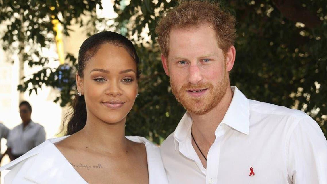 الأمير هاري والمطربة ريهانا