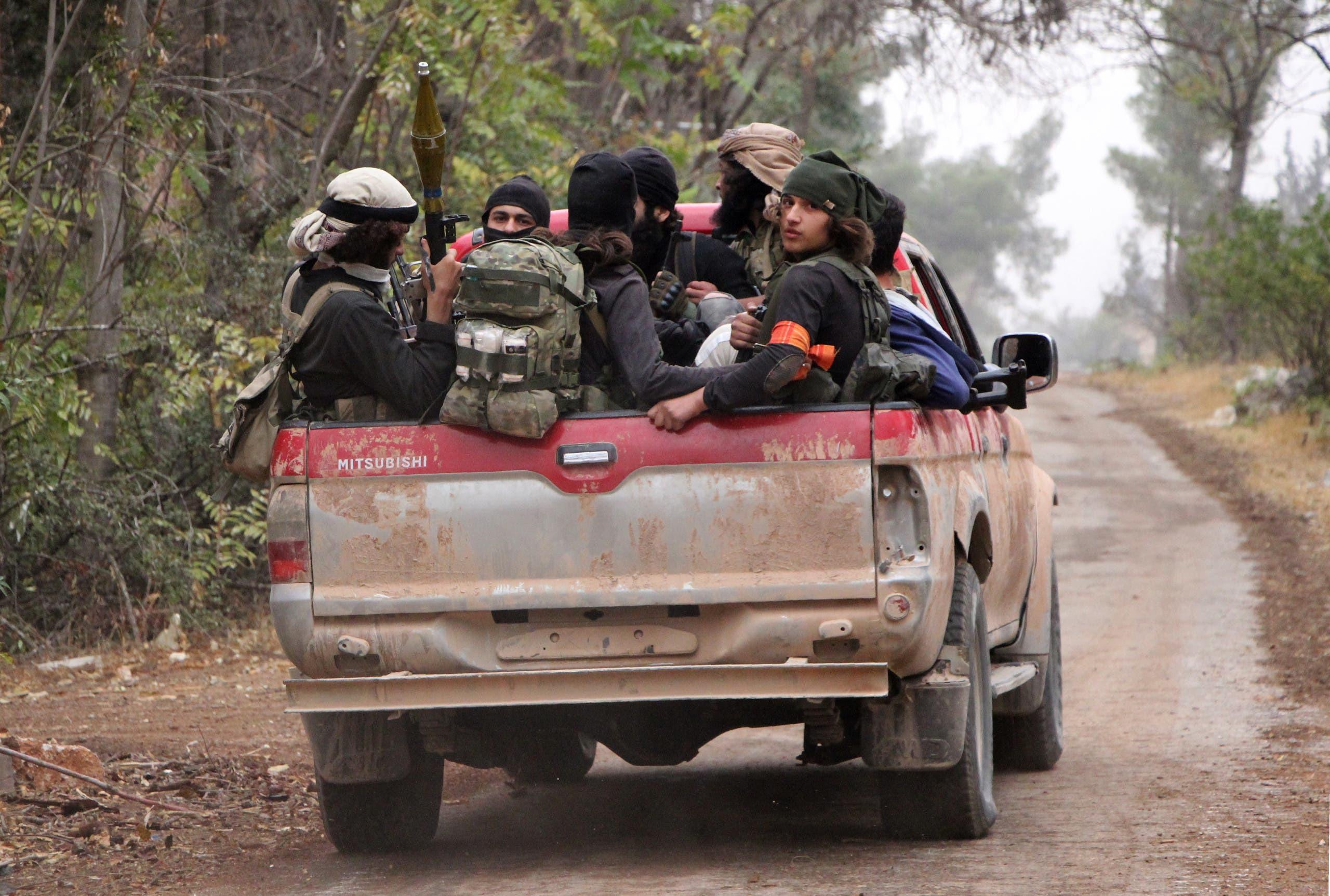 عناصر من المعارضة السورية في حلب