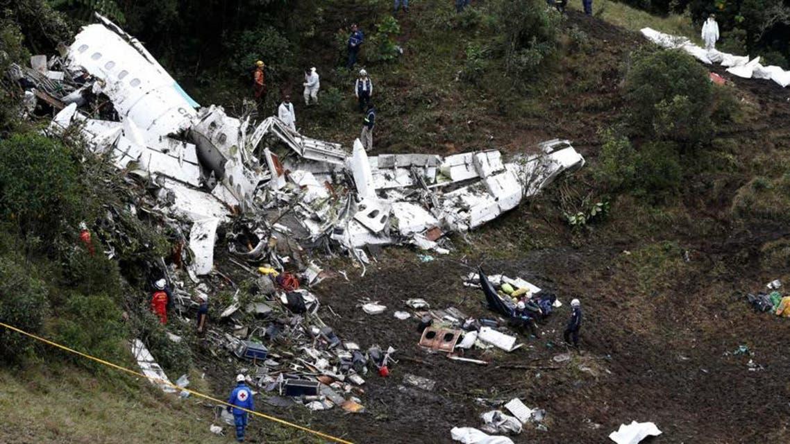 الطائرة الكولومبية