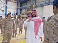 محمد بن سلمان يتفقد برنامج تطوير مقاتلات التورنيدو