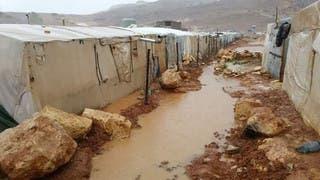 من مخيمات النازحين في عرسال