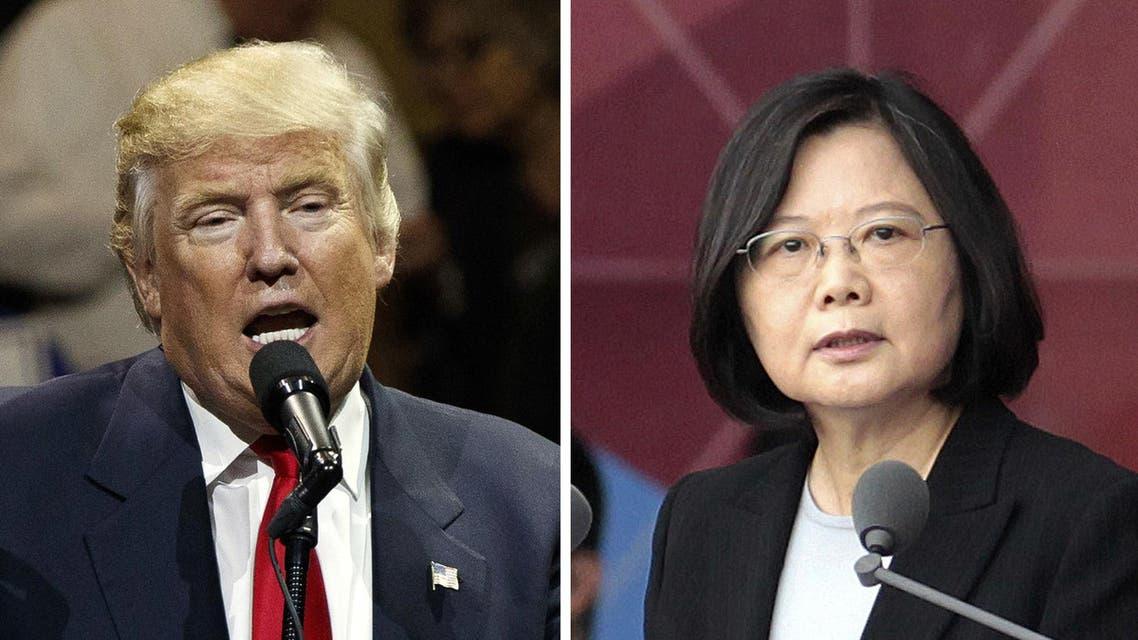 رئيسة تايوان وترمب