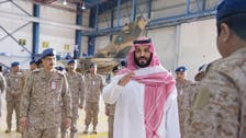Saudi Deputy Crown Prince inspects Tornado Fighter program