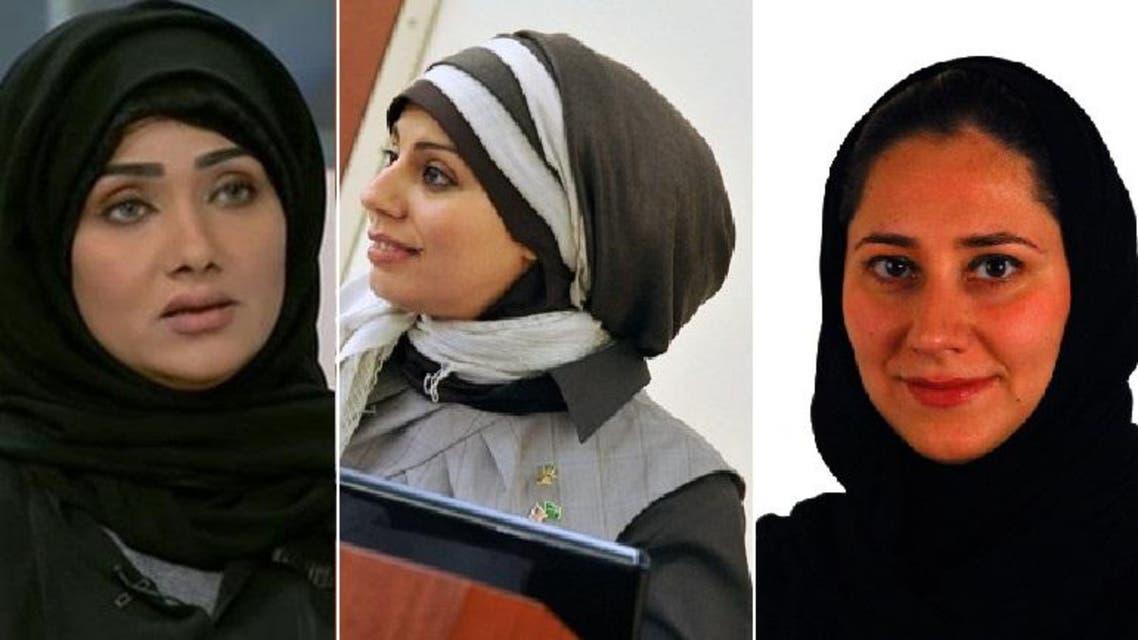 Kawthar al-Arbash, Mody AlKhalaf and Leena K. Almaeena were all named as new members of Saudi Arabia's Shoura Council. (Al Arabiya)