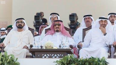 استقبال حاشد للملك سلمان من أبناء قبائل الإمارات