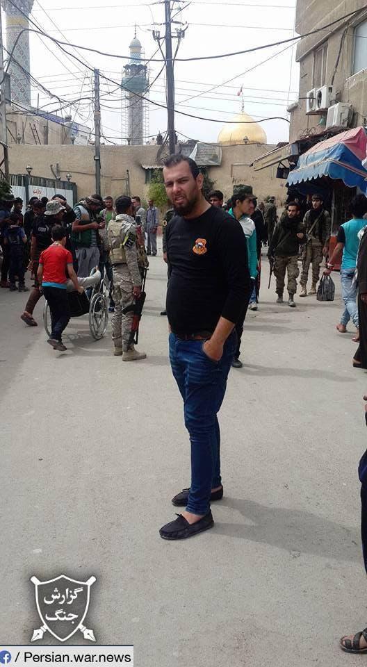 شبه نظامیان وابسته به ایران در سوریه