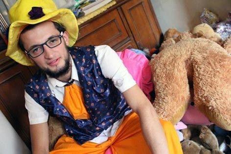 Aleppo's clown