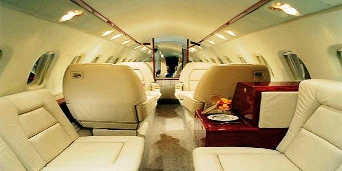 صورة من داخل الطائرة، حسب ما نشرته بعض المواقع