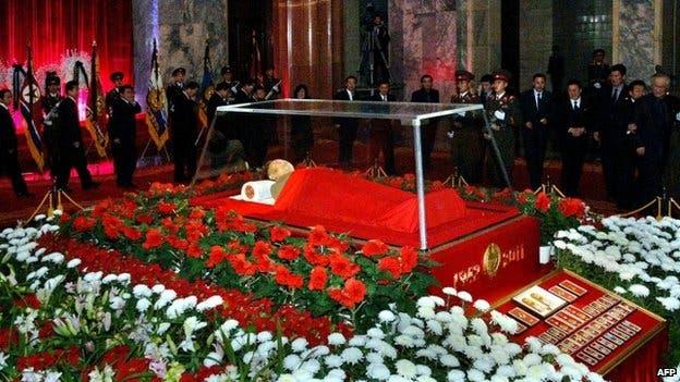 قبر الزعيم الصيني