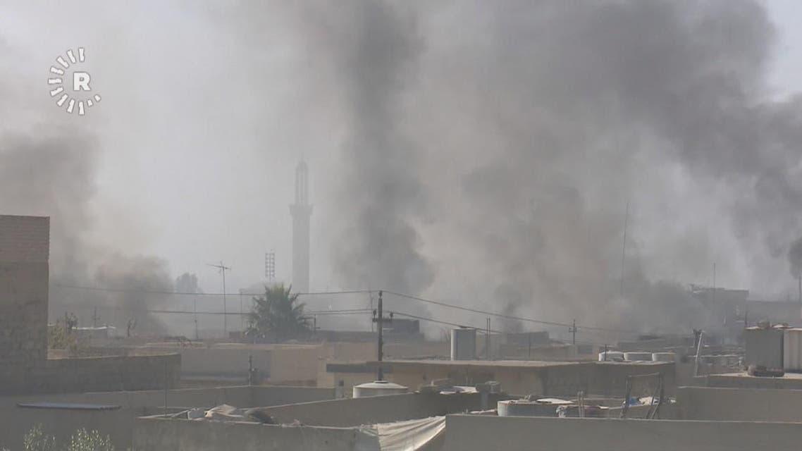 THUMBNAIL_ إف 16 عراقية تغير على مواقع داعش بالموصل ليلا