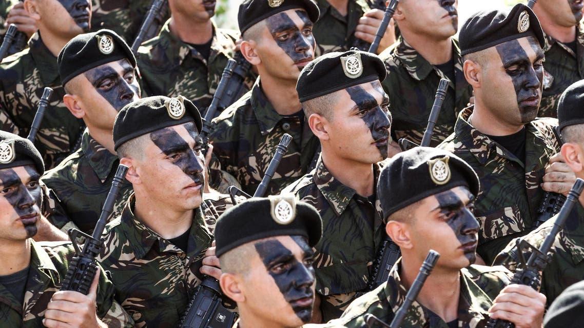 Lebanese Army commandos lebanon Beirut on November 22, 2016 الجيش اللبناني جيش لبنان جنود لبنانيين جنود لبنانيون جندي لبناني