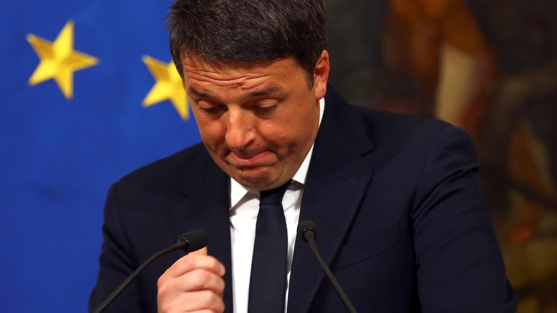 رئيس الوزراء الإيطالي يستقيل من منصبه