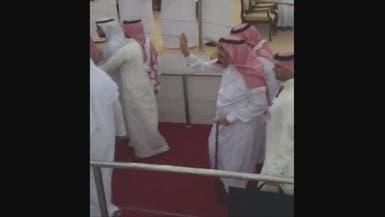 الحشود تحيي الملك سلمان في مهرجان الشيخ زايد التراثي