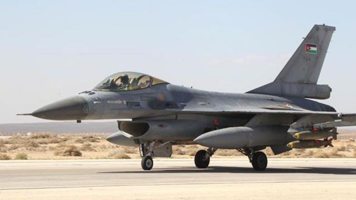 طائرة لسلاح الجو الأردني (أرشيفية)