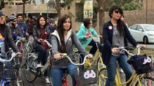 Baghdad woman on bicycle sticks to vow, brings on more female cyclists