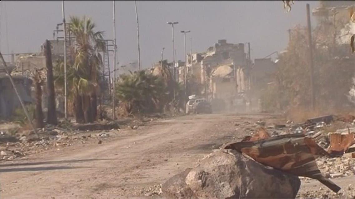 THUMBNAIL_ حلب الشرقية.. بين مطرقة النظام وسندان الإقتتال الداخلي