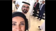 Dubai ruler 'photobombs' woman's selfie