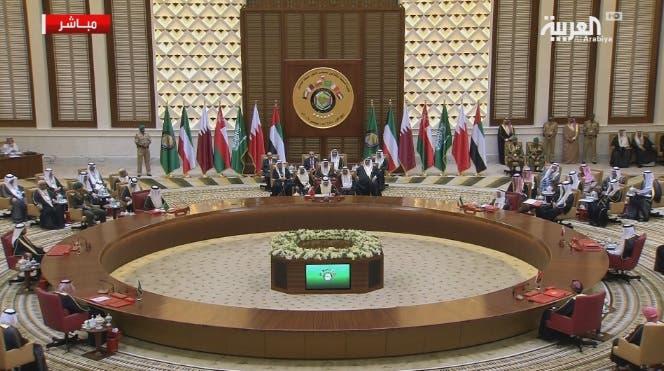 الجلسة الافتتاحية للقمة الخليجية