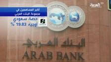 من أهم أكبر المساهمين في مجموعة البنك العربي؟