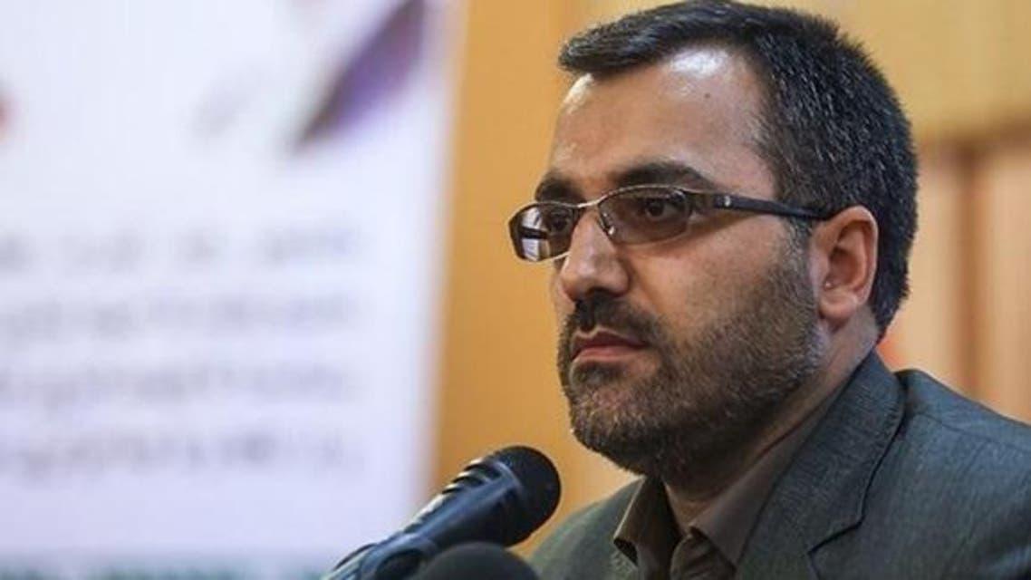 رئيس باسيج الطلبة في ايران داود غودرزي