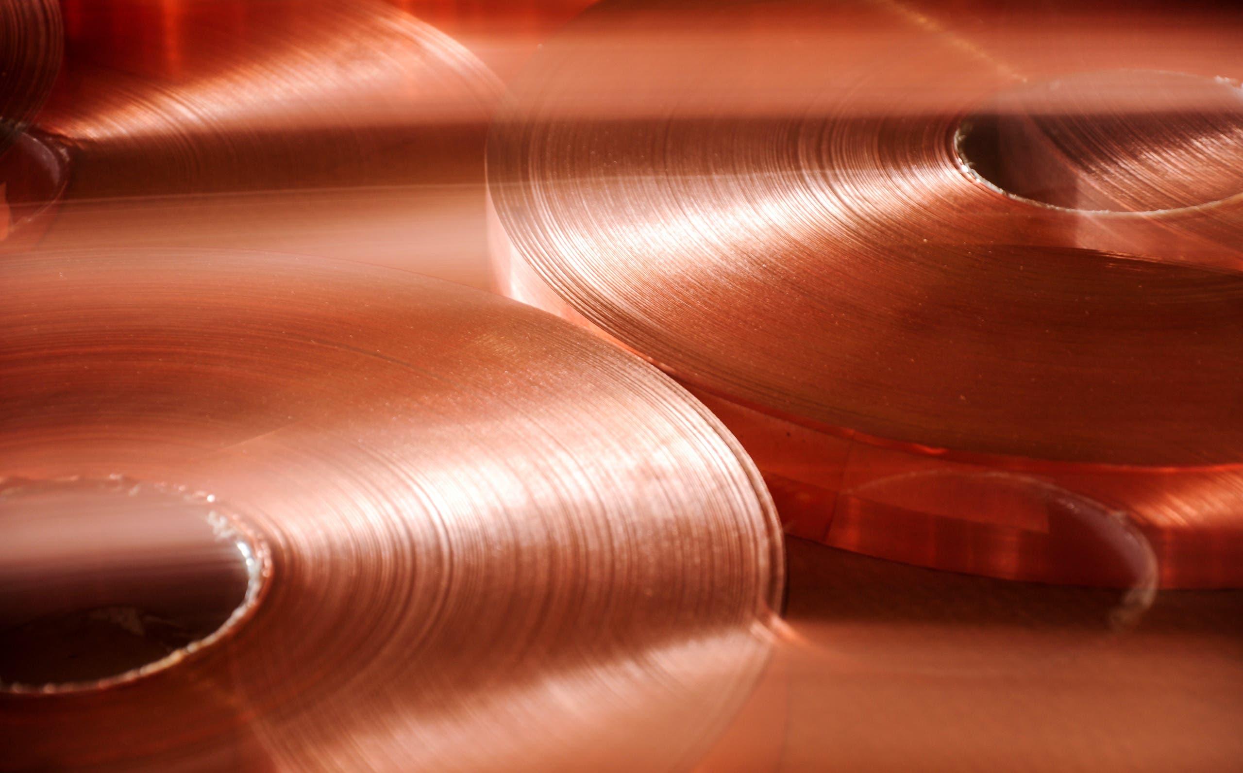 A stock image of copper. (File photo)
