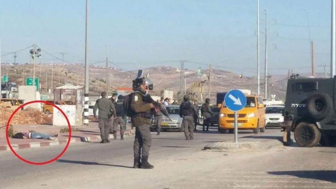 مقتل فلسطيني مفترق زعترة نابلس