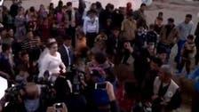 صوت الموسيقى يعلو على المدافع.. زواج بمخيم نازحي الموصل