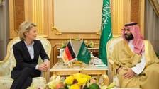 ولي ولي العهد يبحث مع وزيرة دفاع ألمانيا مكافحة الإرهاب