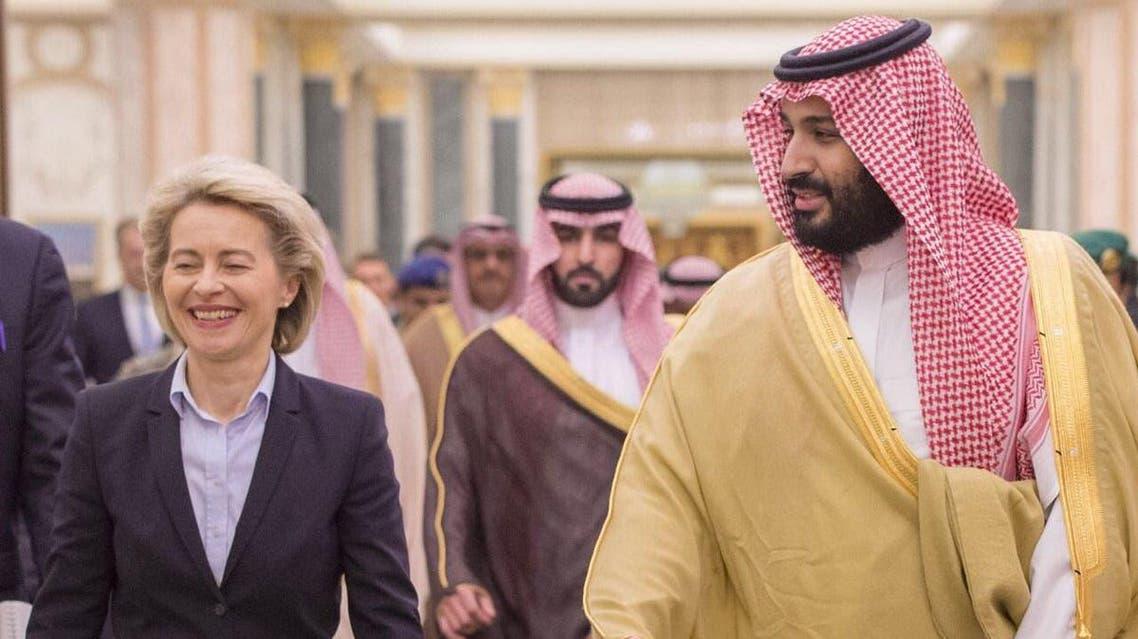 saudi mbs german defence minister