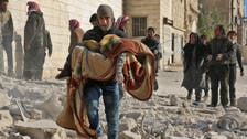 Heavy Syrian army shelling hits rebel Aleppo