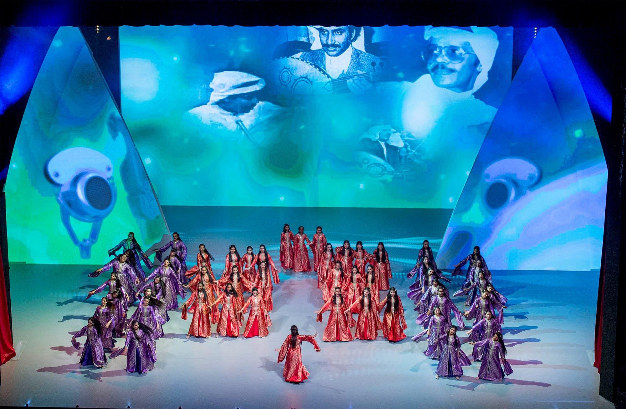 Saudi King Salman attends live performances at Kuwait's Opera House