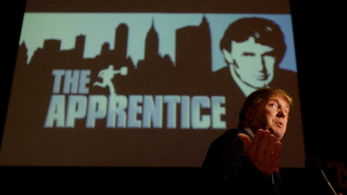 "In this July 9, 2004 file photo, Donald Trump, seeking contestants for ""The Apprentice"" television show, is interviewed at Universal Studios Hollywood in the Universal City section of Los Angeles. AP"
