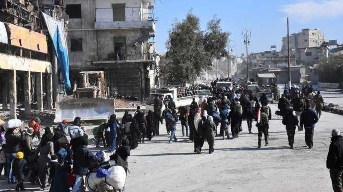 هروب من شرق حلب