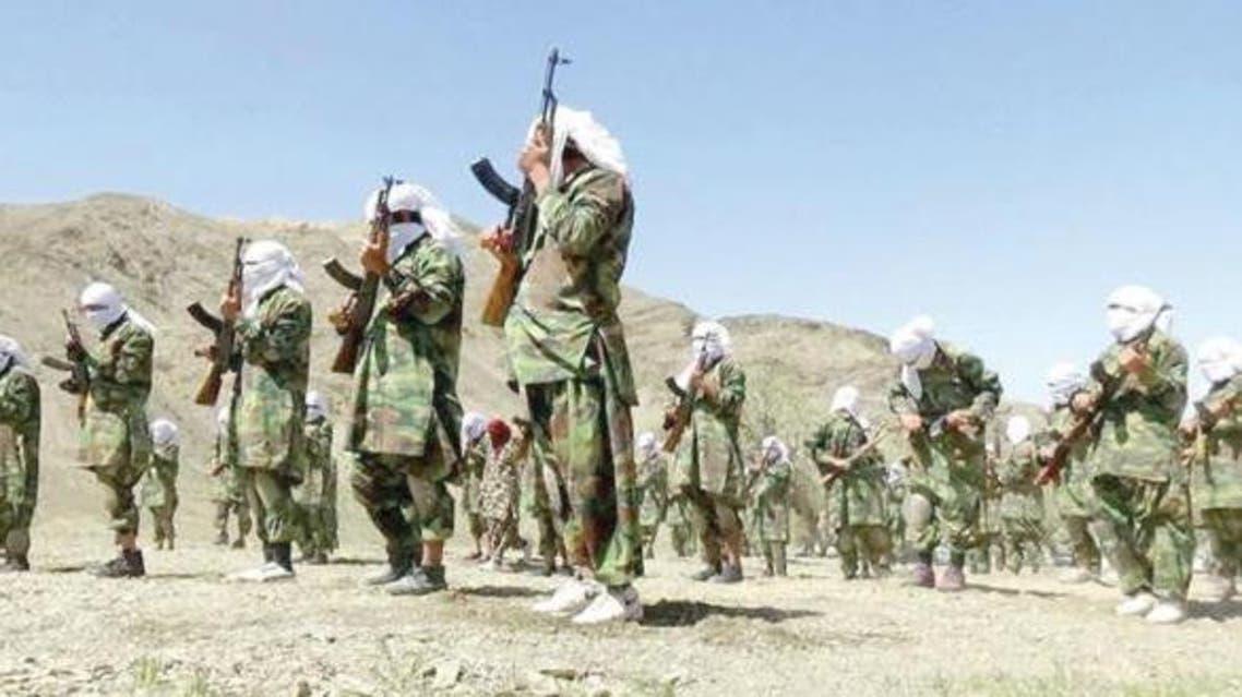 تدريبات عناصر طالبان في جبال أفغانستان
