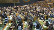 اسد رجیم کی مخالفت کے باوجود 'یو این' میں جنگ بندی کی قرارداد منظور