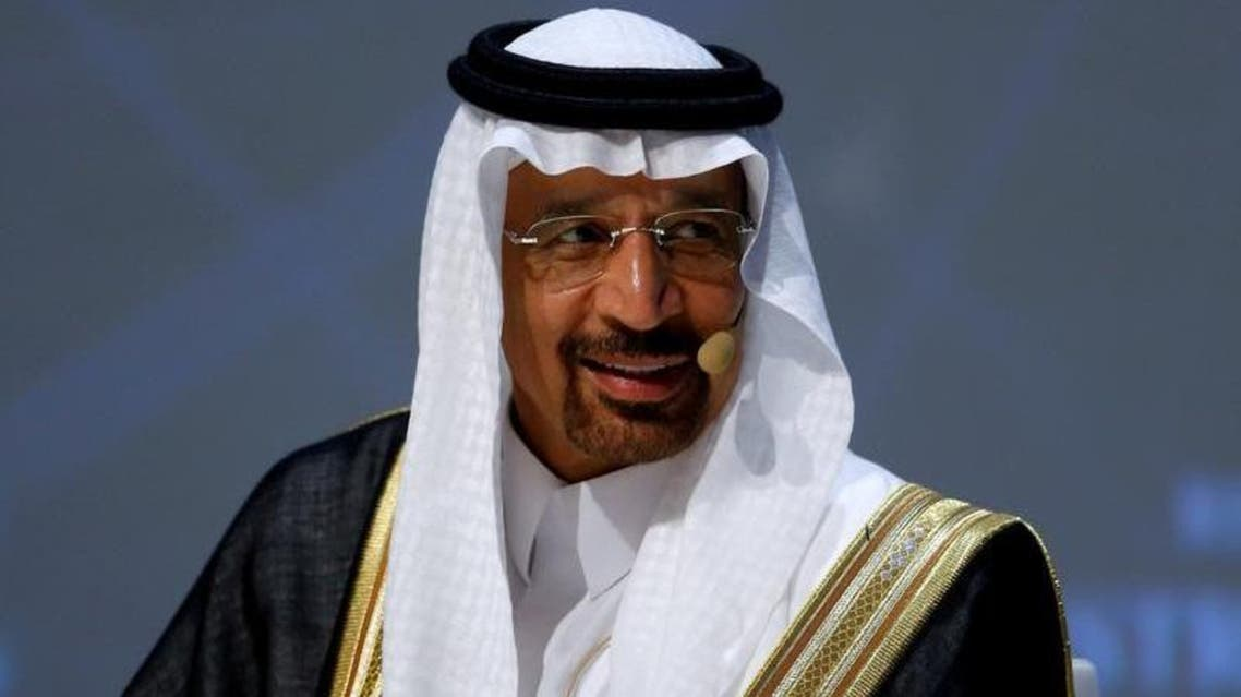 Khalid al-Falih, Saudi energy minister, in Vienna on December 10, 2016. (Reuters)