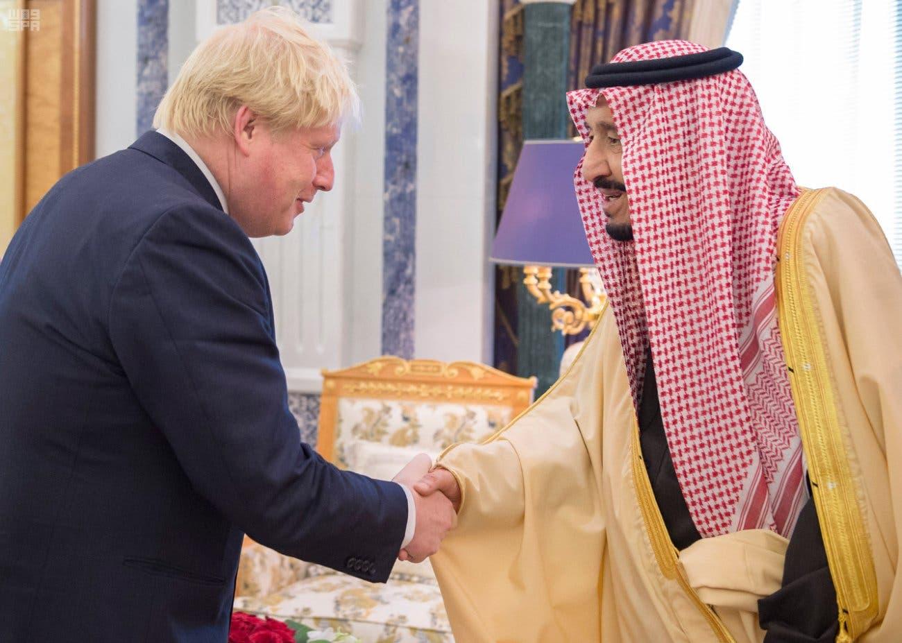 Boris Johnson reiterates UK ties to Saudi Arabia | Al Arabiya English