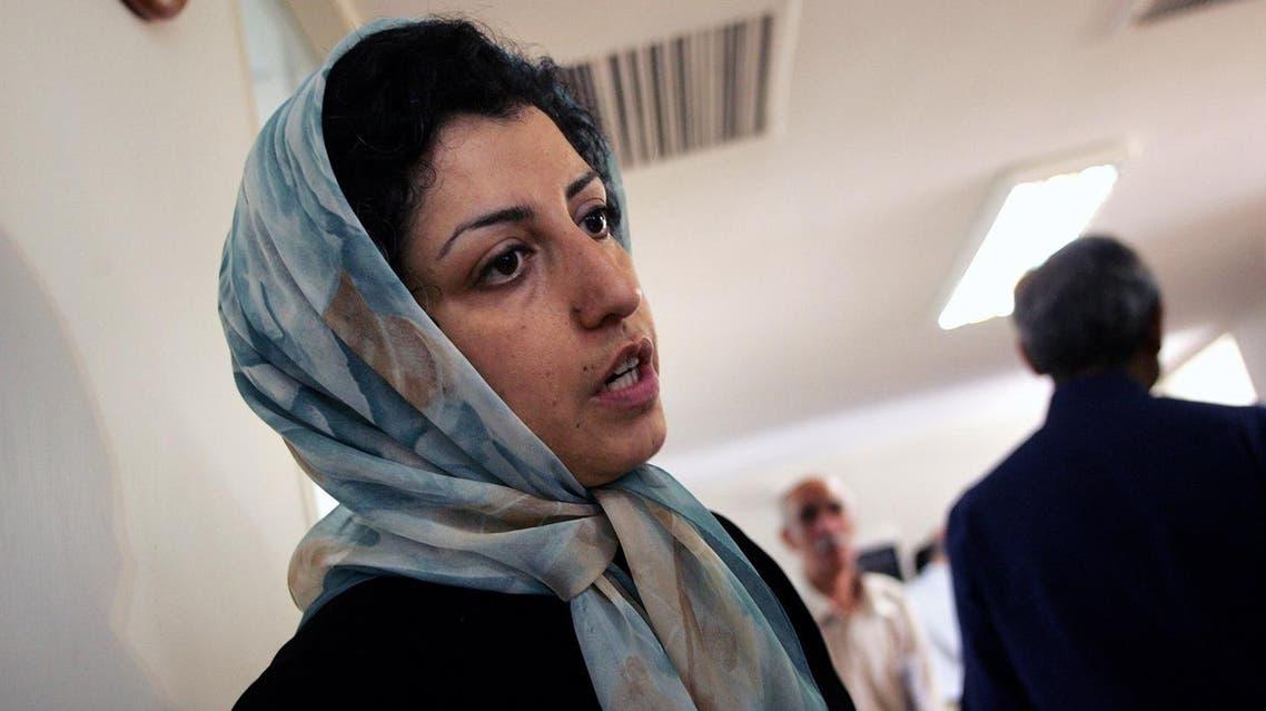 narges mohammadi (AFP)