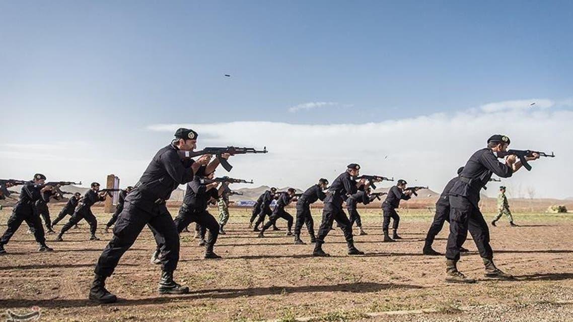 مناورات الوحدات الخاصة الإيرانية في بلوشستان