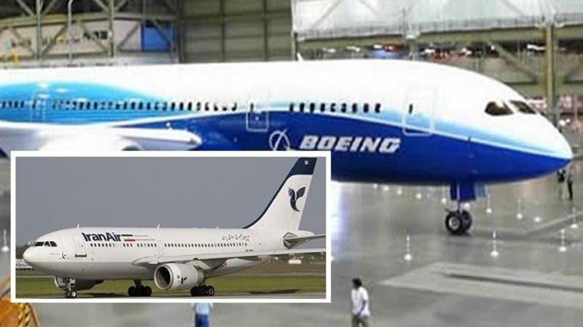 طهران اشترت اليوم الأحد 80 طائرة بوينع من الولايات المتحدة