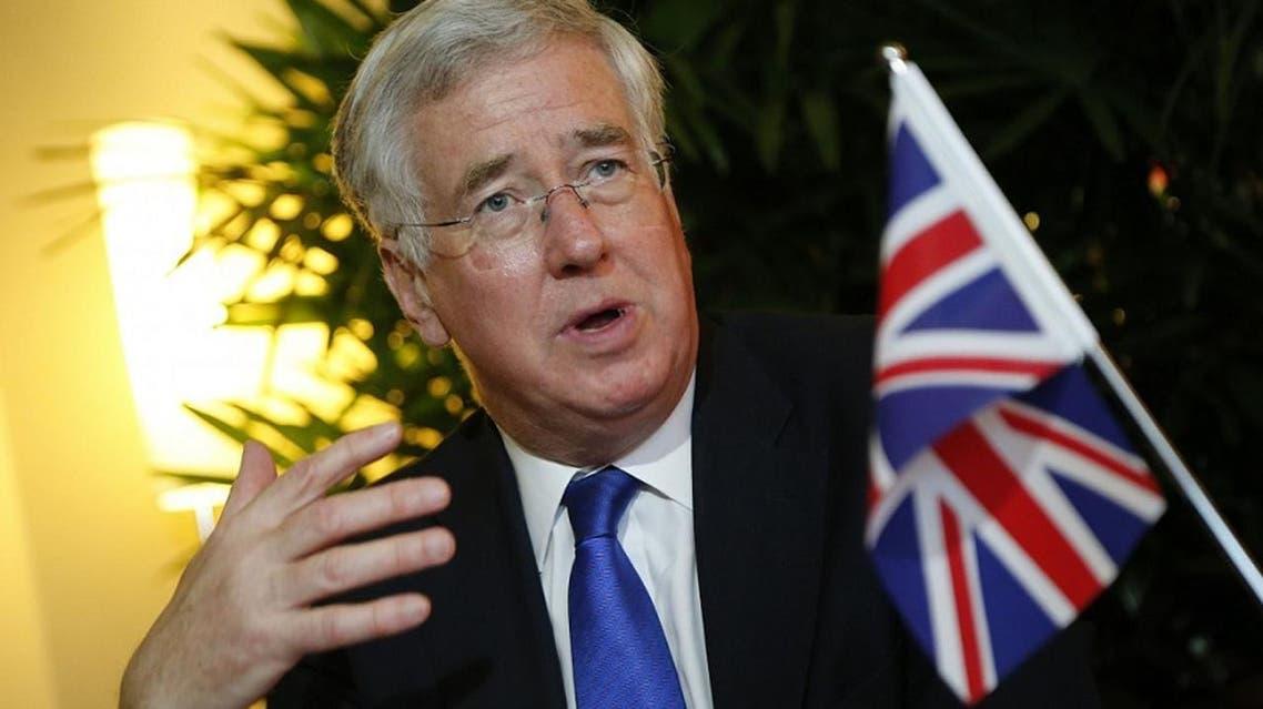 وزير الدفاع البريطاني مايكل فالن