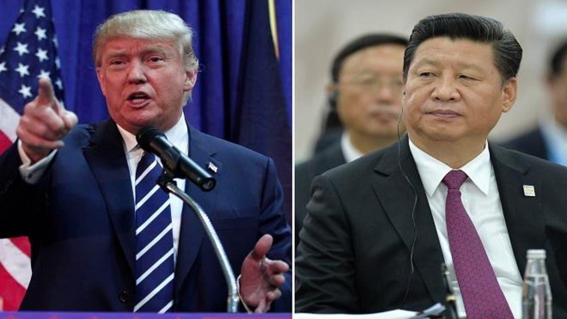 الرئيس الصيني وترمب