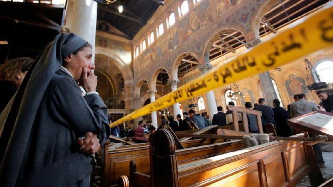 تفجير الكنيسة المصرية في القاهرة